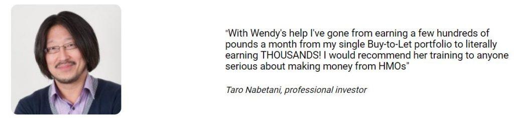Taro Nabetani, professional investor